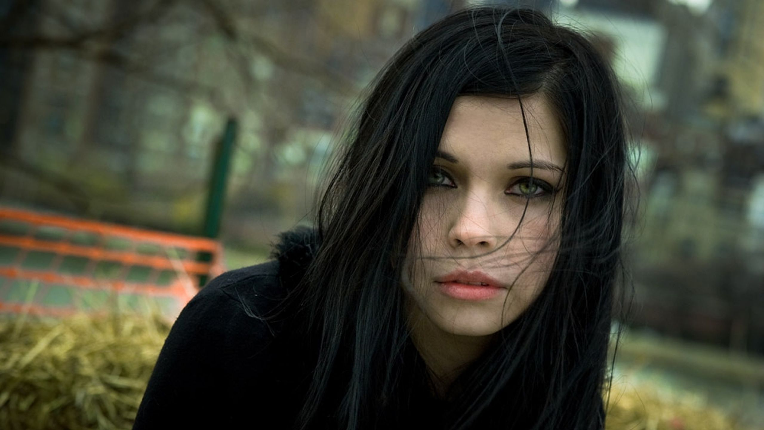 Dark Haired Gothic Girl Brunettes Women Blue Eyes Gothic Green Eyes Faces Pale Skin Black Hair Black Hair Green Eyes Black Hair Pale Skin Pale Skin