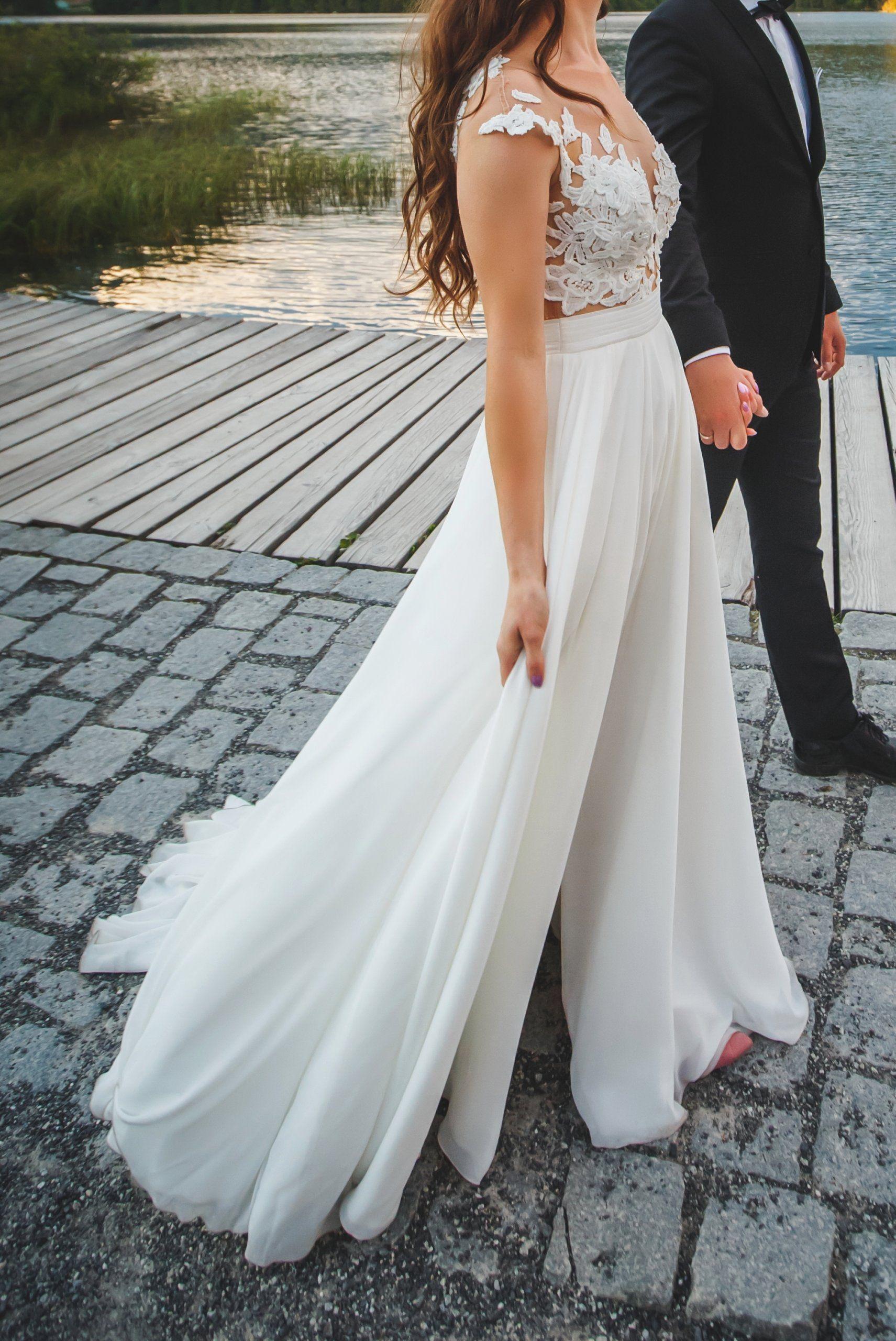 Suknia Slubna Milla Nova 36 170cm Wzrostu 9cm 6950665187 Oficjalne Archiwum Allegro Sleeveless Wedding Formal Dresses Wedding Dresses