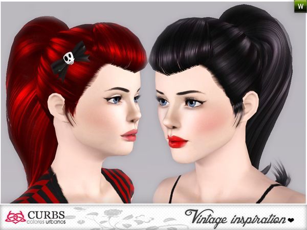 Vintage hairstyles 02 hairstyle by Colores Urbanos