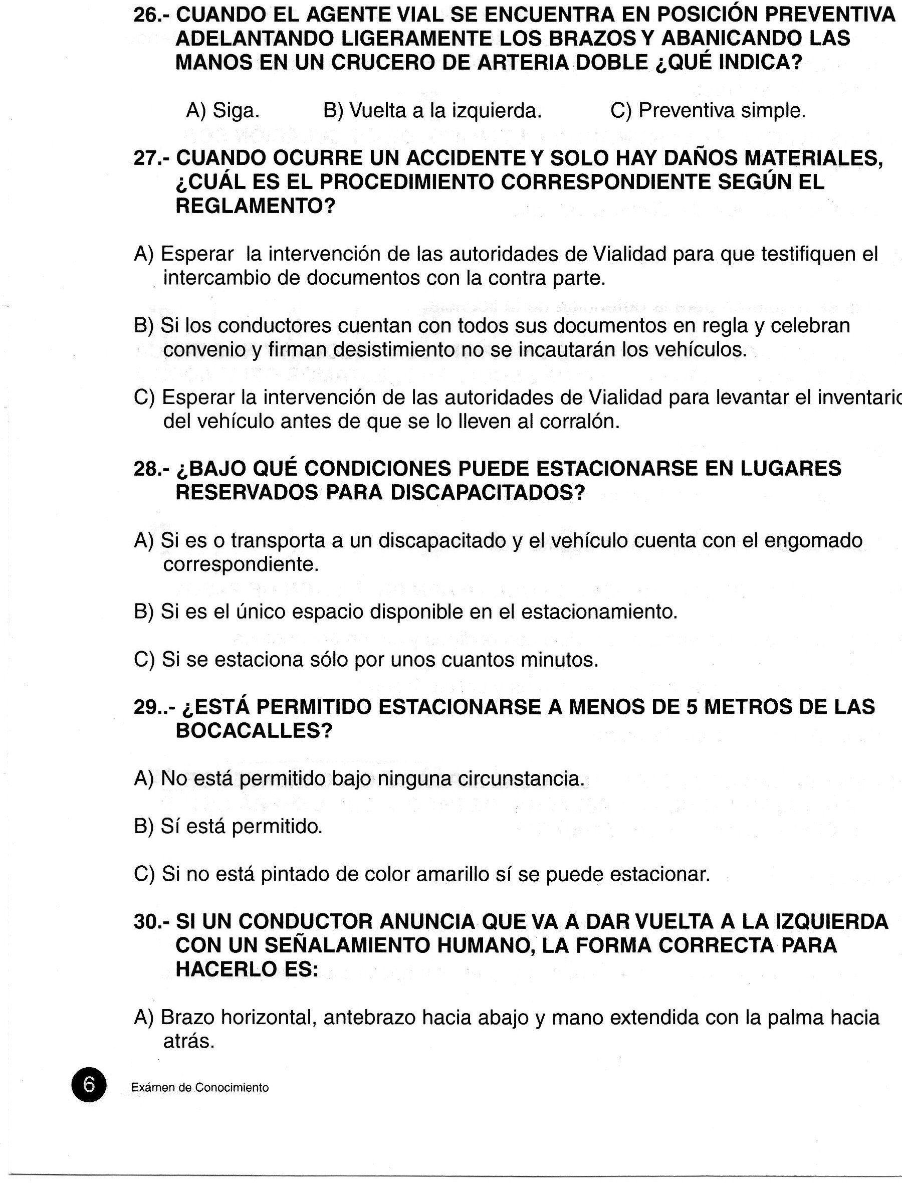 Imagen Publicada Por Malko0 Examen Examen De Conducir Jalisco