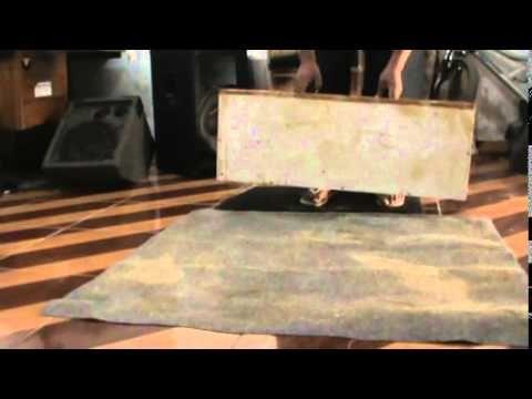 Como Forrar Uma Caixa Com Carpete E Outras Forracoes Pallet Coffee Table Coffee Table Decor