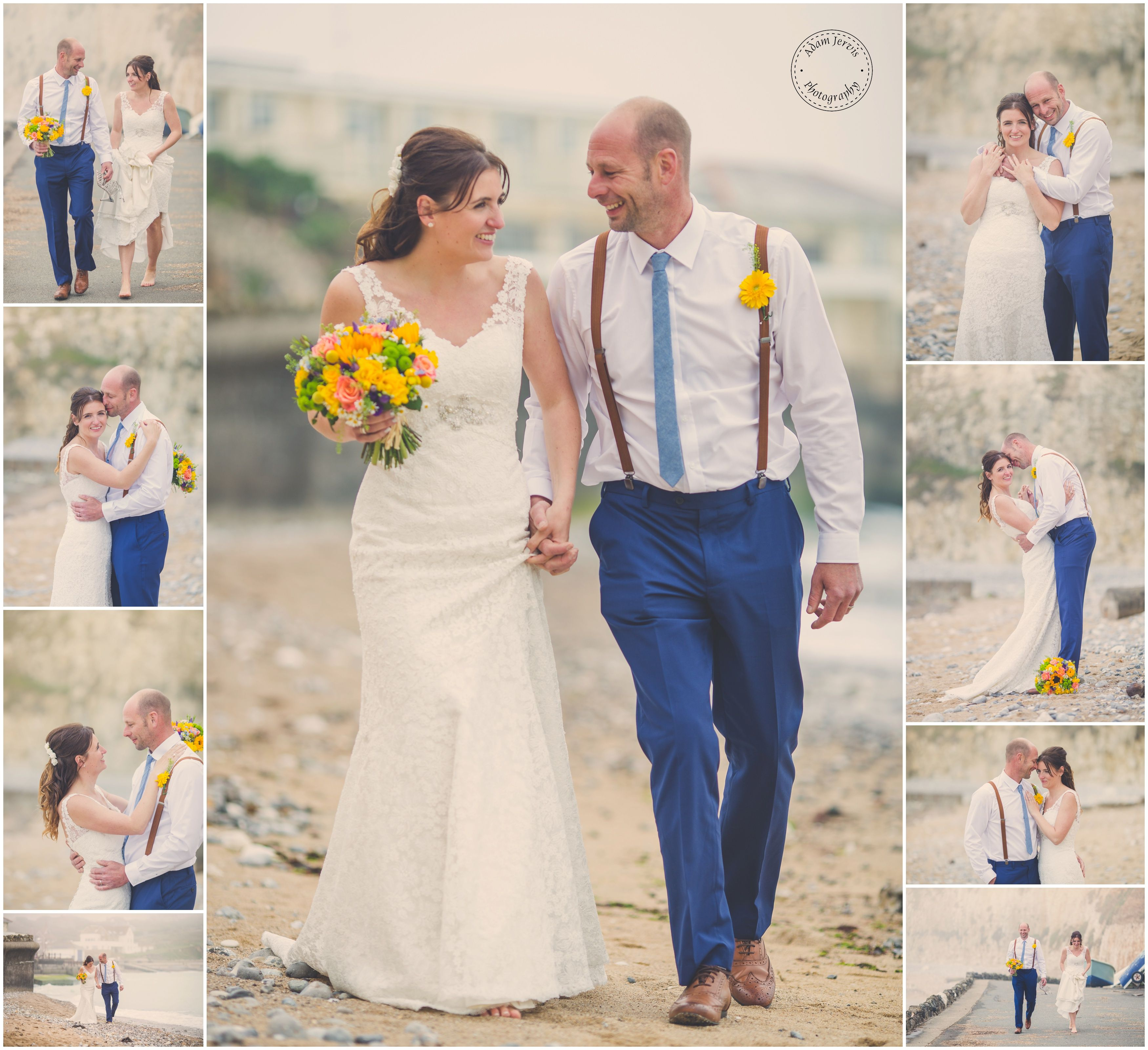 Lifes A Beach Wedding Canon Freshwater Bay Isle Of Wight