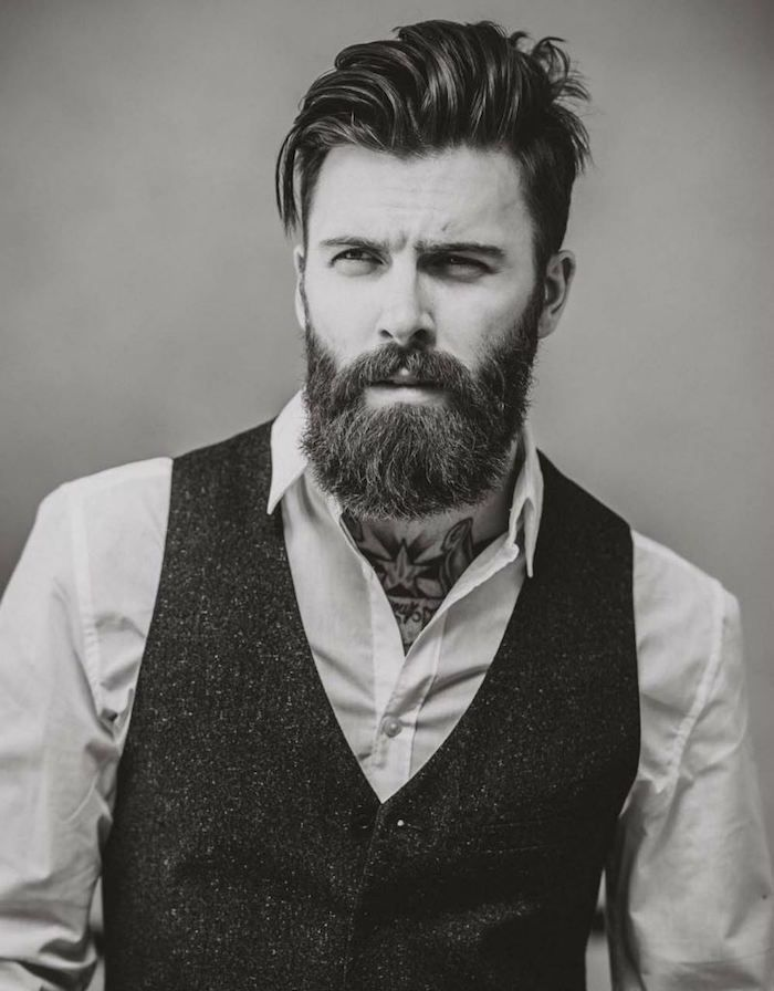 Hipster beard - the hair model #beardfashion