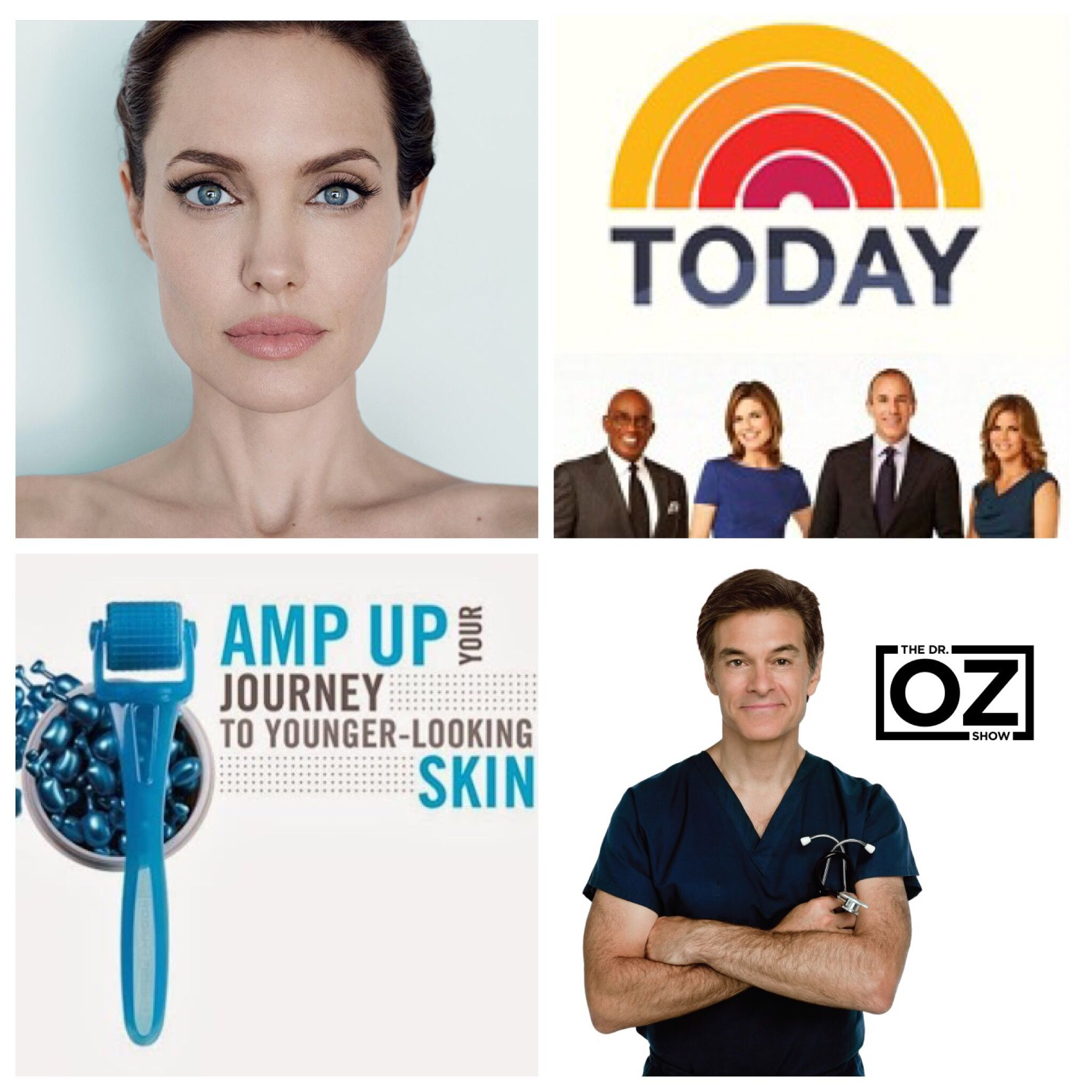 Angelina Jolie Uses A Roller To Keep Her Skin Looking Great The Today Show Says It S The Best Spent Minute I Skin Care Doctors Skin Care Anti Aging Skin Care