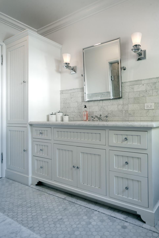 Simple Hot Chocolate Three Ways Beadboard Bathroom Black Vanity Bathroom Master Bathroom Vanity