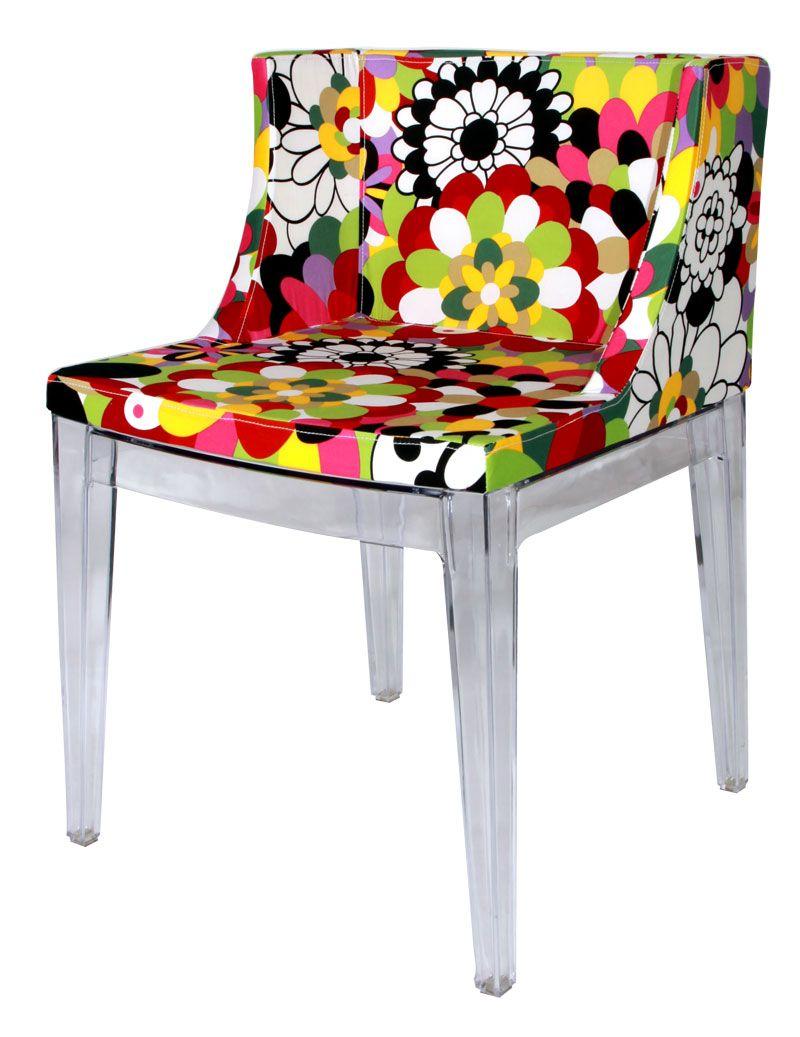 Replica Philippe Starck Chair Silla Con Estampado Sillas