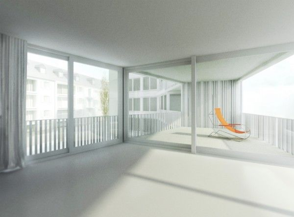 Im Langen Loh / Buol & Zünd / 2011 / Basel / Switzerland / First Prize