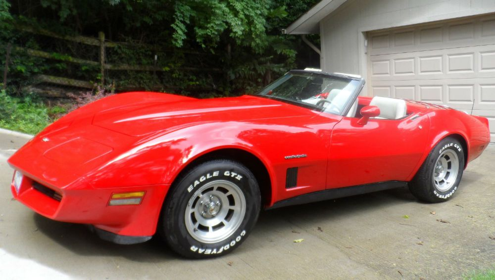 1982 CORVETTE CONVERTIBLE | Corvettes | Corvette convertible