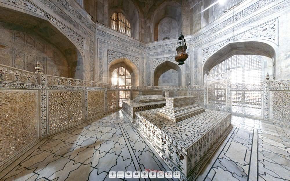 31Very Beautiful Taj Mahal Inside