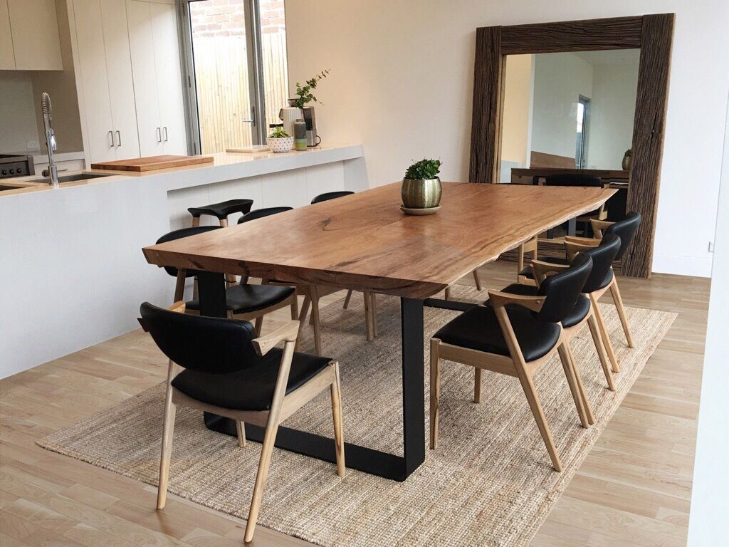 wood slab table australia we create beautiful wood slab tables from a variety of australian. Black Bedroom Furniture Sets. Home Design Ideas