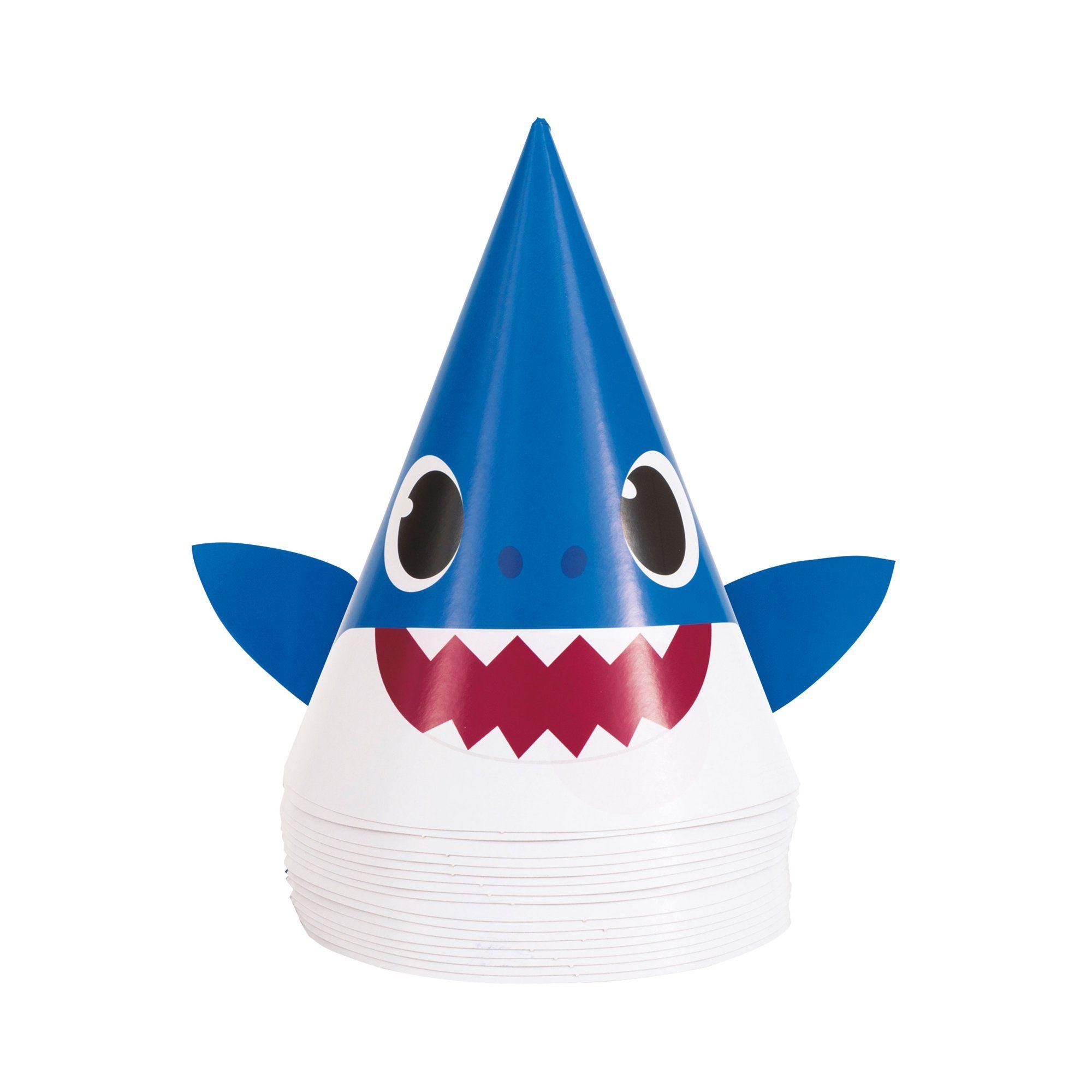 Baby Shark Party Hats, 16ct in 2020 Shark