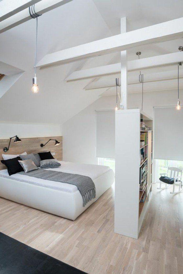 Le parquet clair c 39 est le nouveau hit d 39 int rieur pour - Idee de decoration pour chambre a coucher ...