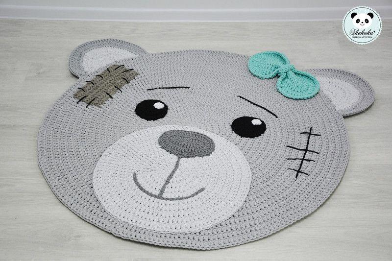 Dywan Miś Shekoku Dekoracje Pokoju Dziecięcego Produkt