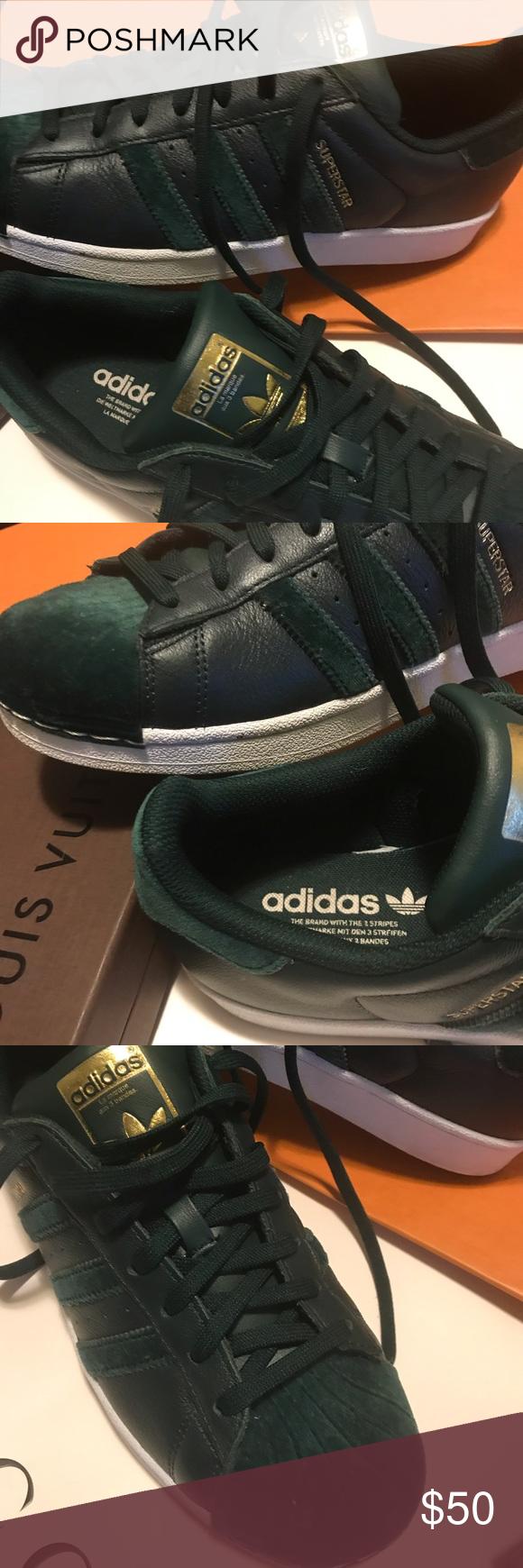 Adidas Superstar Forest Green Sneaker