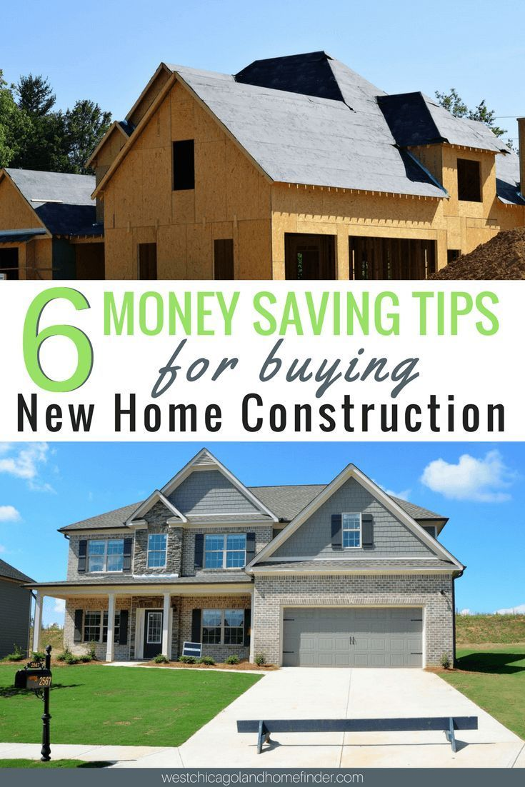 6 Money Saving Tips For Buying New Home Construction