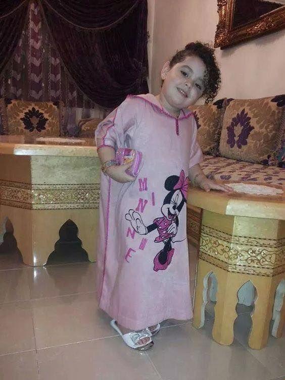 جلابة صغيرة موديلات بنوتات صغار روعة Little Girl Dresses Kids Couture Kids Outfits