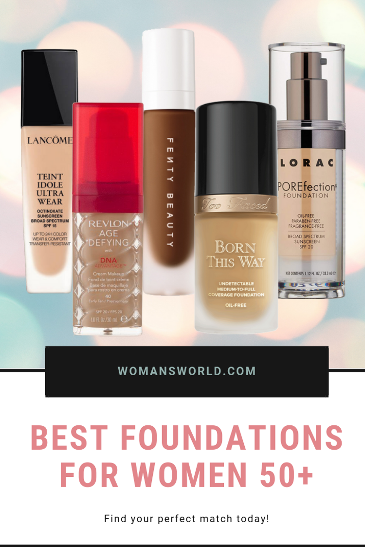 best glowing foundation for mature skin
