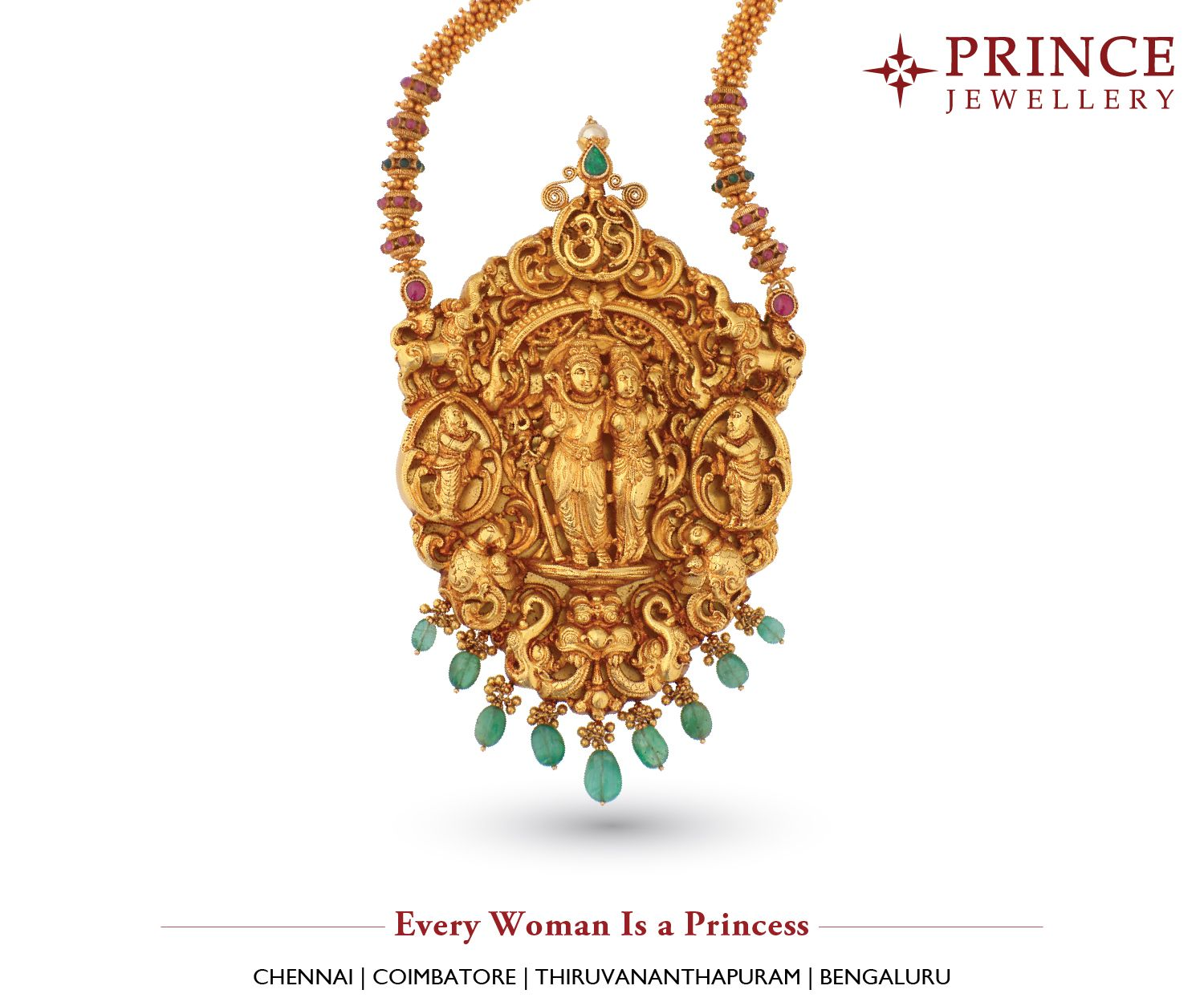 Look ethnic and elegant anywhere you go princejewellery