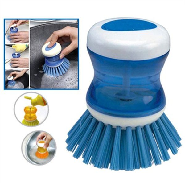 Cleaner Scrubber Kitchen Cleaning Tools Pot Pan Dish Bowl Cleaning Brush