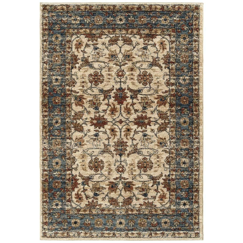 Kaleen Mcalester Cream 5 Ft 3 In X 7 Ft 3 In Area Rug Ivory
