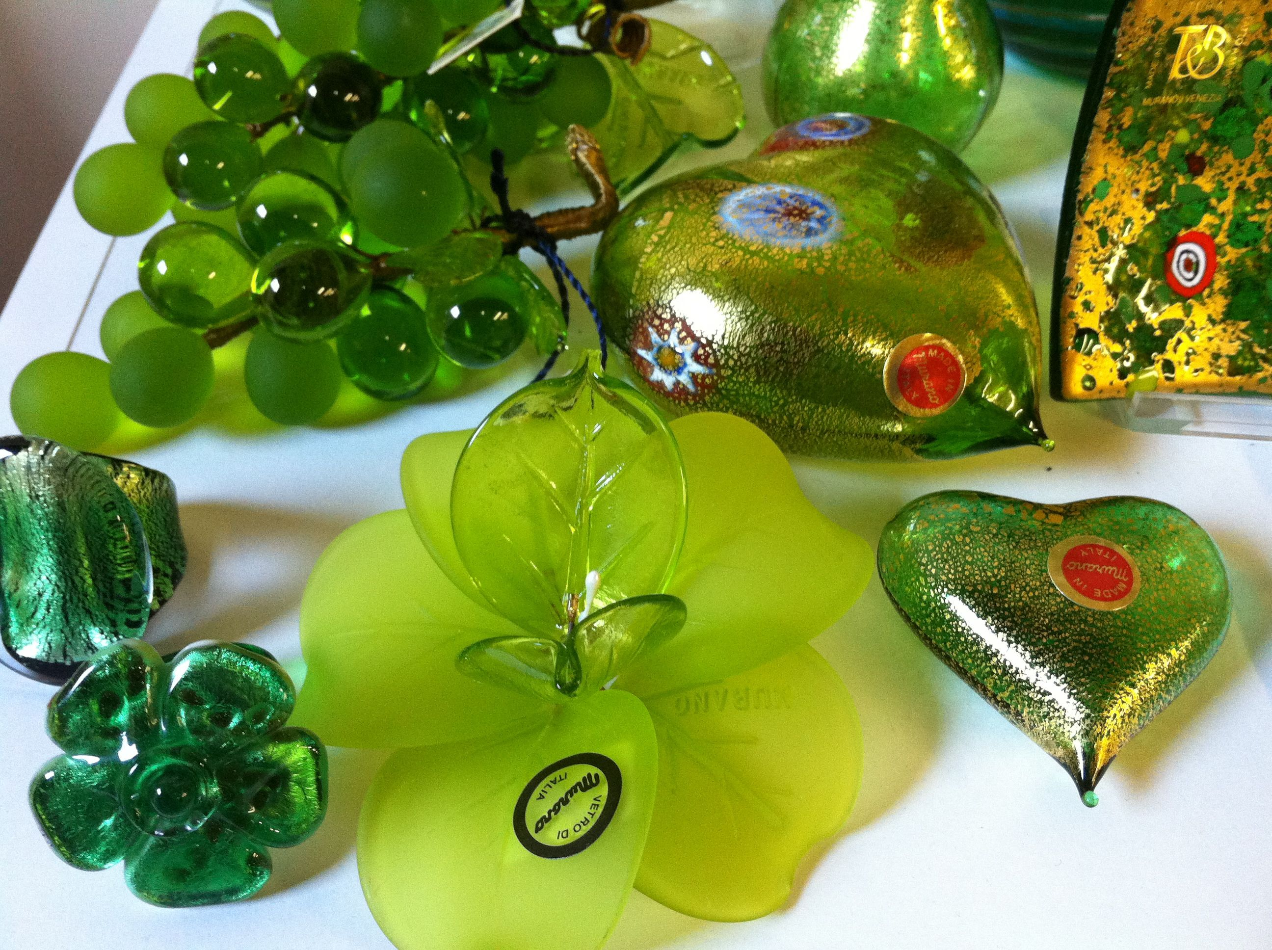 Venetian Glass | Venetian glass, Christmas bulbs ...