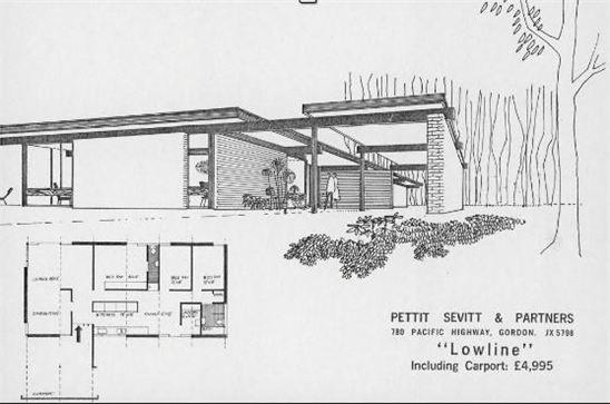 Www Secretdesignstudio Com Blog Pettit And Sevitt Home Sydney 1960 S And 1970 S S Mid Century Modern House Plans Mid Century Modern House Mid Century House