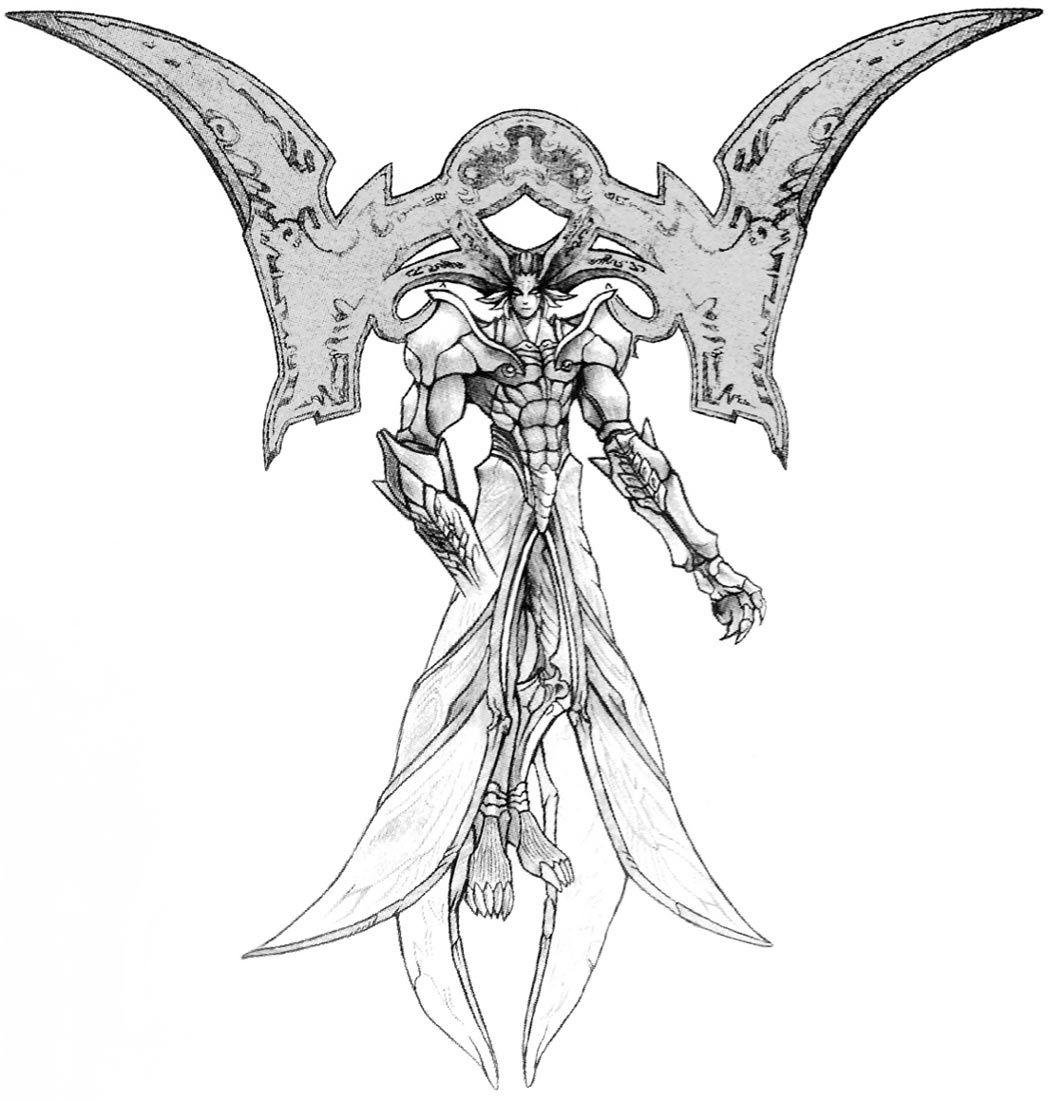 Week 10 Final Fantasy X Concept Art Mon Seymour Omnis