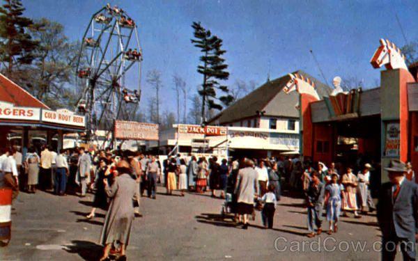 Lincoln Park Lincoln Park Amusement Park Rides Park