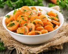 Salade light de carottes à lorange