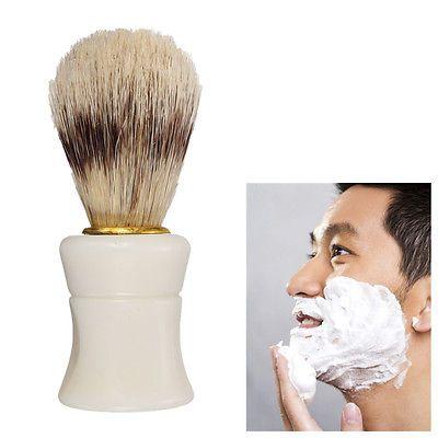 New men shave tool badger bristle hair barber #shaving brush - barber resume