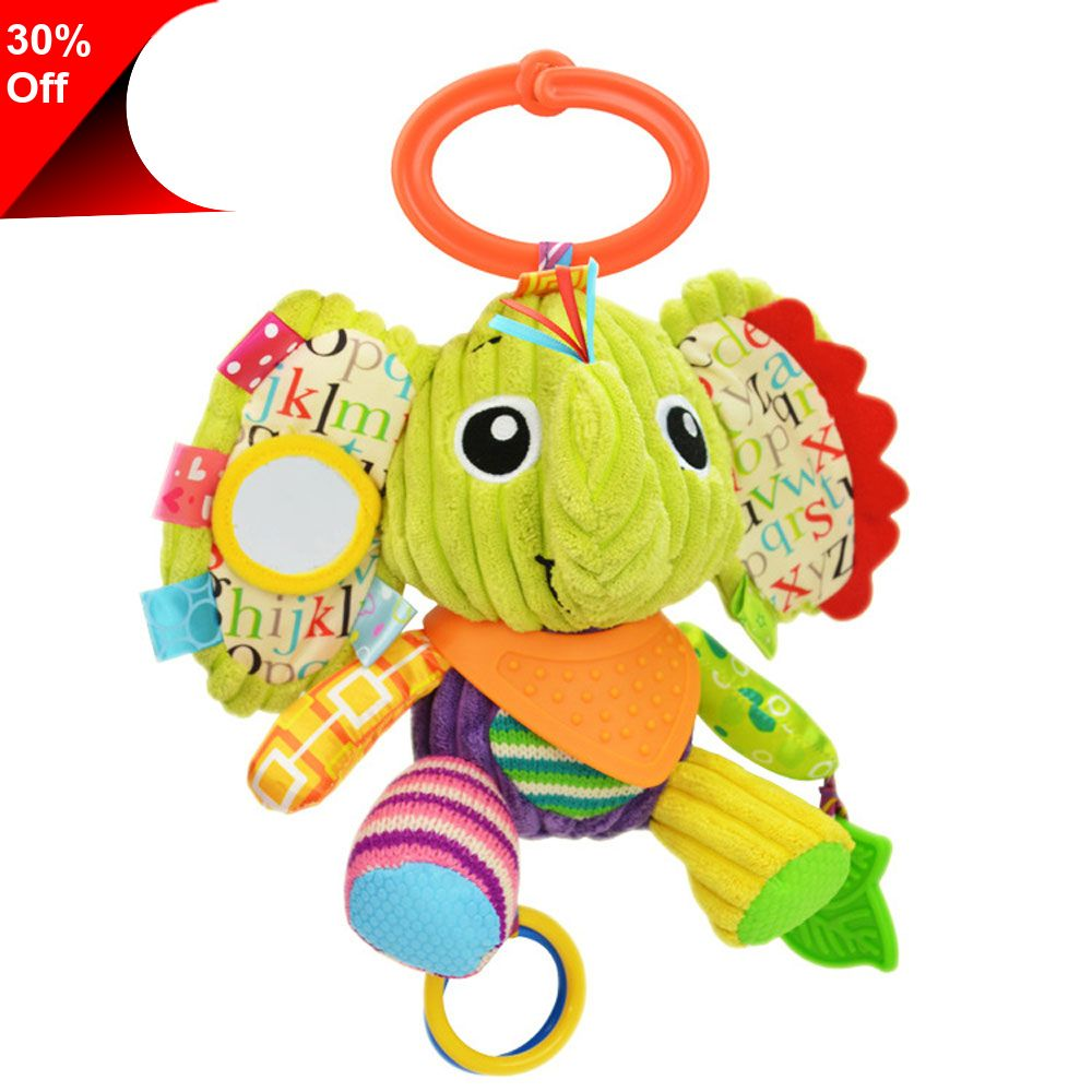S Baby Infant Mobile Toy Plush Rattle Ring Bell Crib Bed Hanging Bee Toy NEW