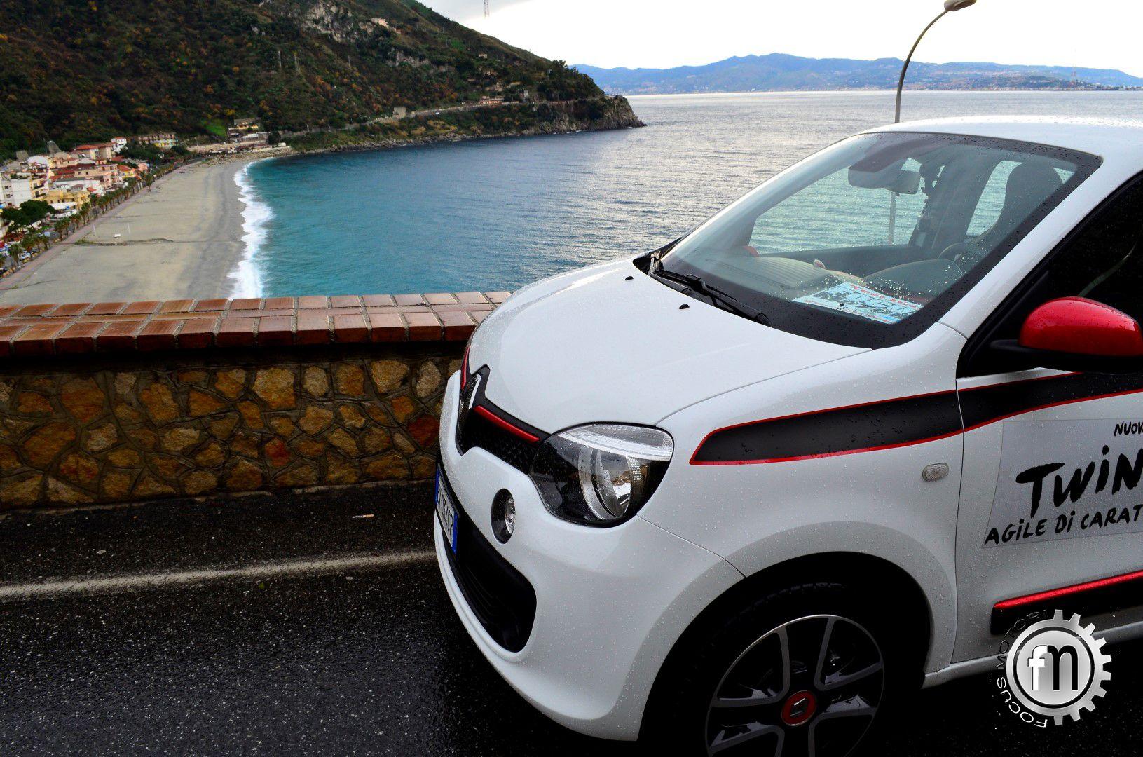 Prova su strada nuova Renault Twingo turbo
