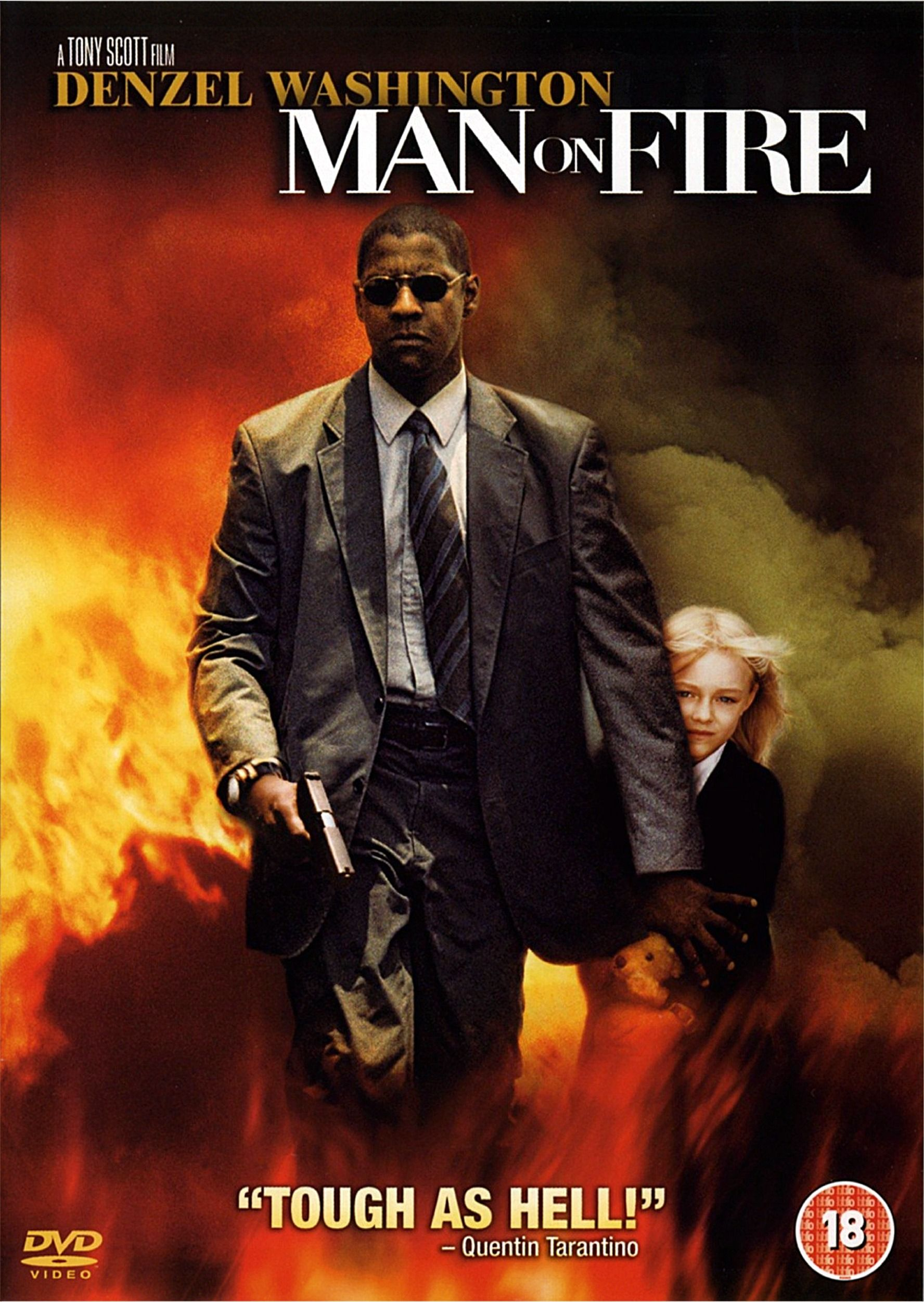 Review 4 Man on Fire(2004) Fire movie, Man on fire