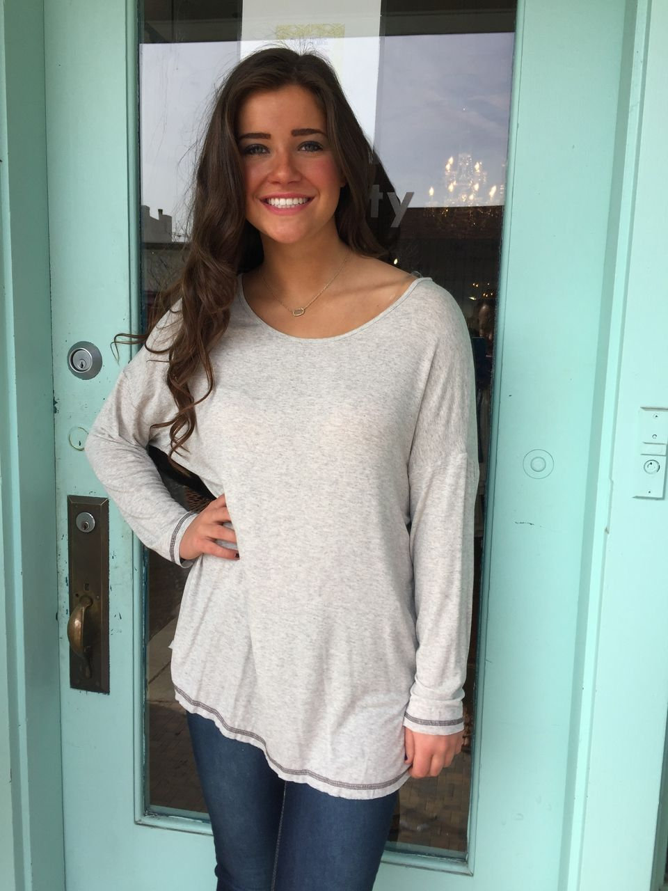 fortuityinc - Call it a day top::Grey, $29.00 (http://www.fortuityusa.com/call-it-a-day-top-grey/)