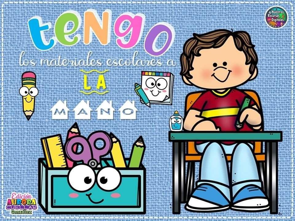 Reglas Para Clase En Linea Dibujo De Escuela Ilustracion De Los Ninos Materiales Didacticos