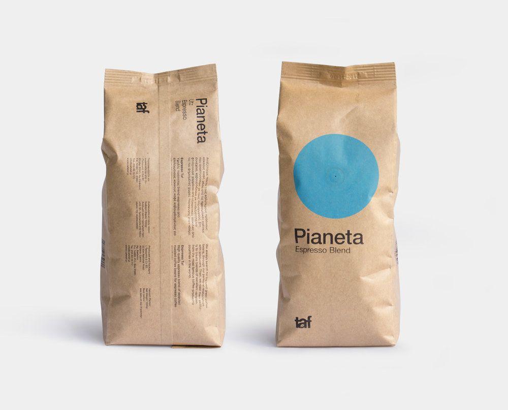 Taf Coffee — The Dieline - Branding & Packaging