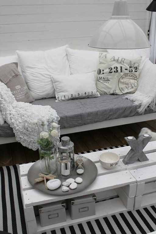 Tables basses en bois de palettes tr s originales 20 id es pour vous pallet idea and - Trouver des meubles de salon pour vous ...