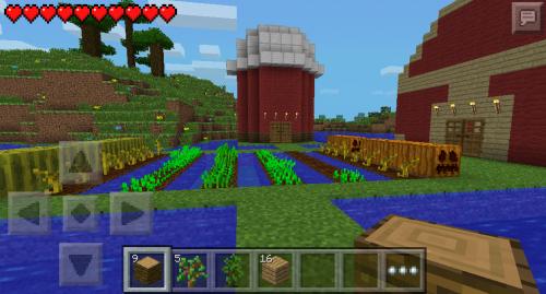 Awesome Farm House Design Minecraft Pocket Edition