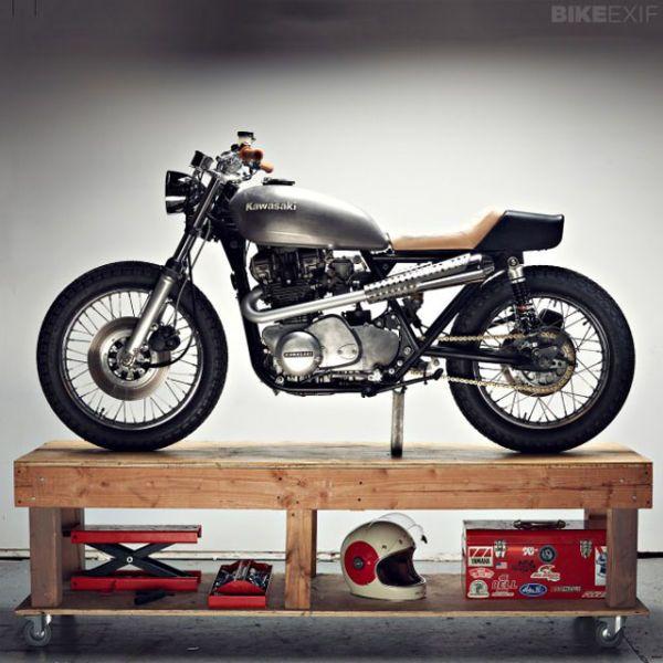 Chad Hodge Modified Kawasaki KZ750