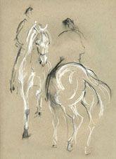 Skizzenbuch Pferdezeichnungen