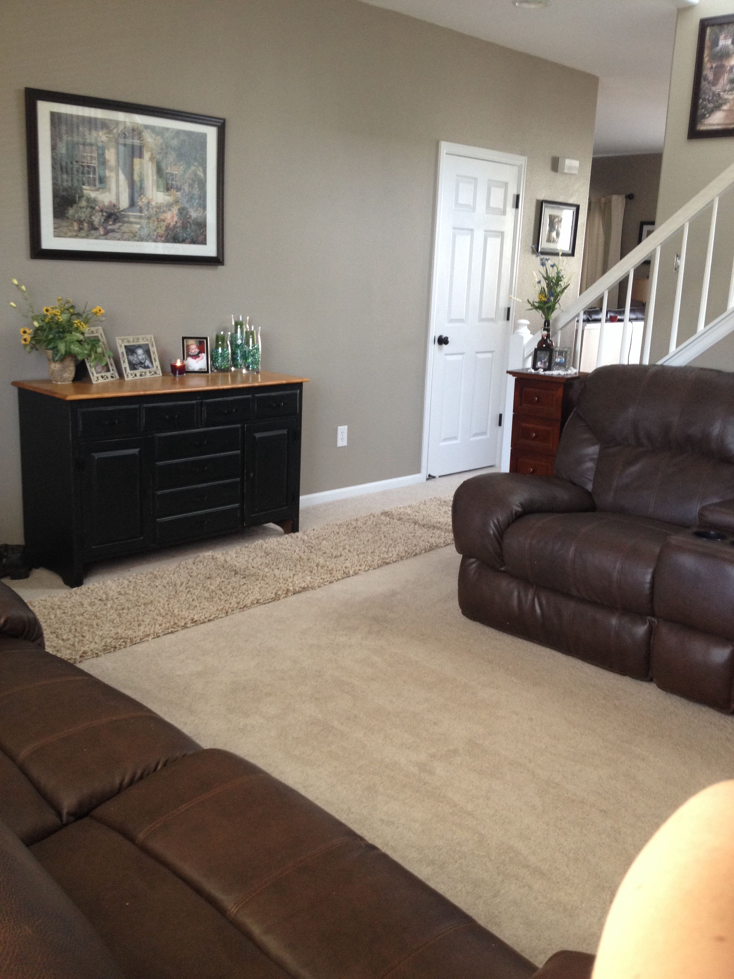 My Living Room Benjamin Moore Indian River Is The Perfect Neutral To Warm And Update A Space