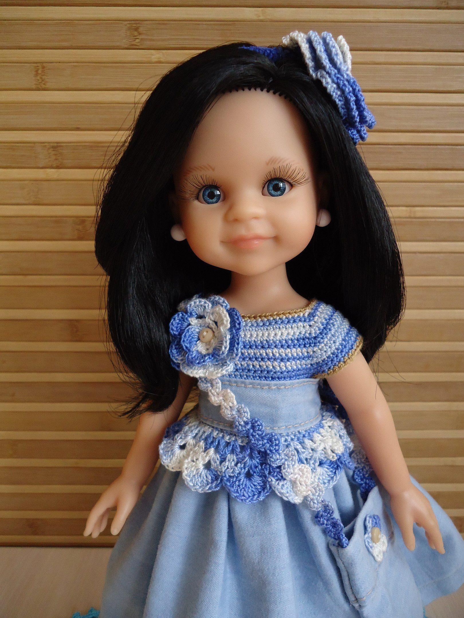 Испанские куклы Paola Reina   Одежда, Одежда для кукол, Наряды