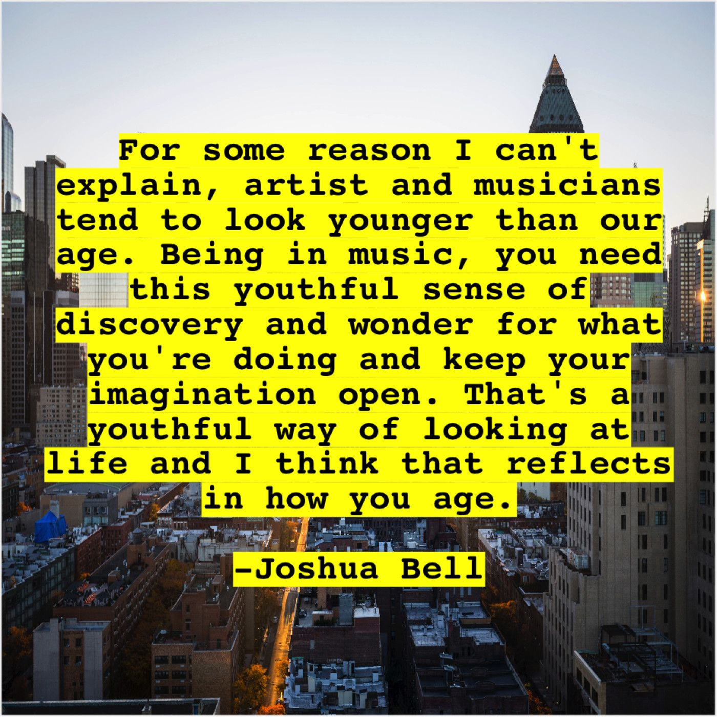 Joshua Bell Quote For some reason I cant explain artist