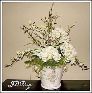 How to make your own silk flower arrangements home decor for Make your own flower arrangement