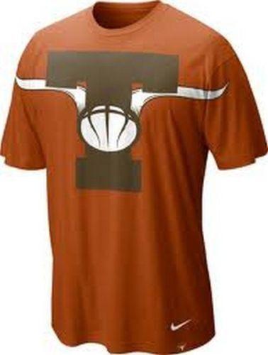 finest selection fc7bc 78e19 Texas Longhorns Basketball aerograghic t-shirt Nike new with ...