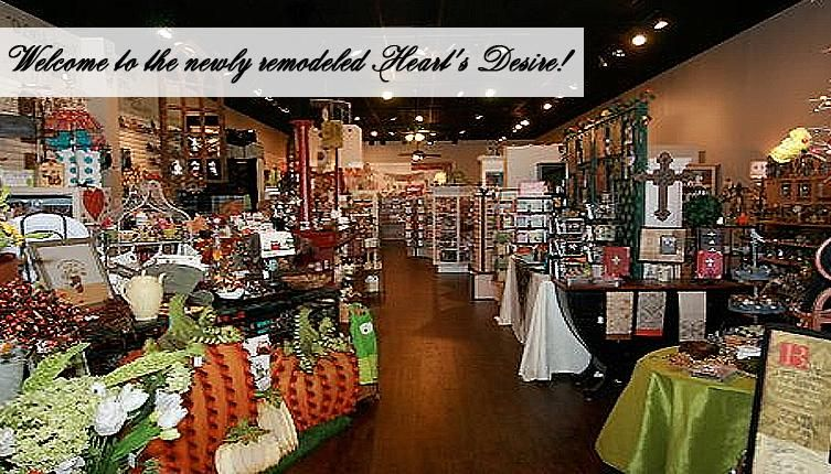 Hearts desire in frisco texas great gift shop with a