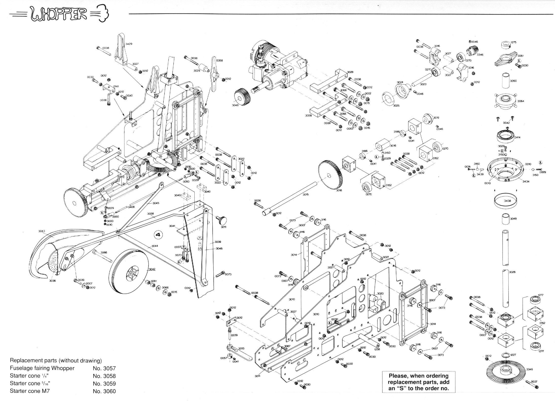 Technical Drawing Gyrocopter