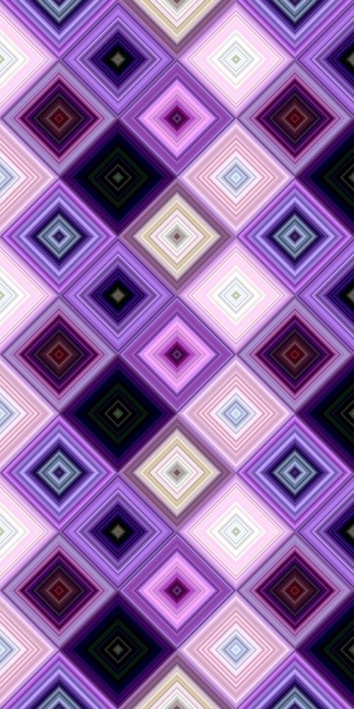 Purple Abstract Diagonal Square Mosaic Pattern Stock Vector (Royalty Free) 1185902608
