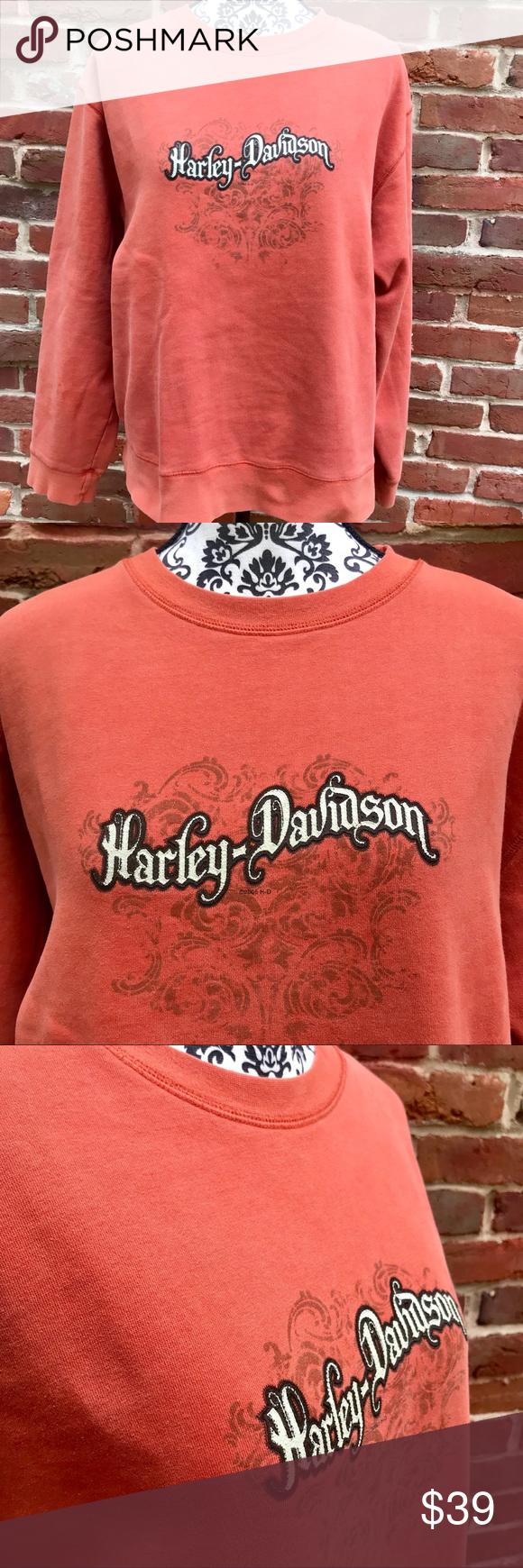 Harley Davidson Vintage Zanotti Patch Sweatshirt Sweatshirts Sweatshirts Hoodie Patch Sweatshirts [ 1740 x 580 Pixel ]