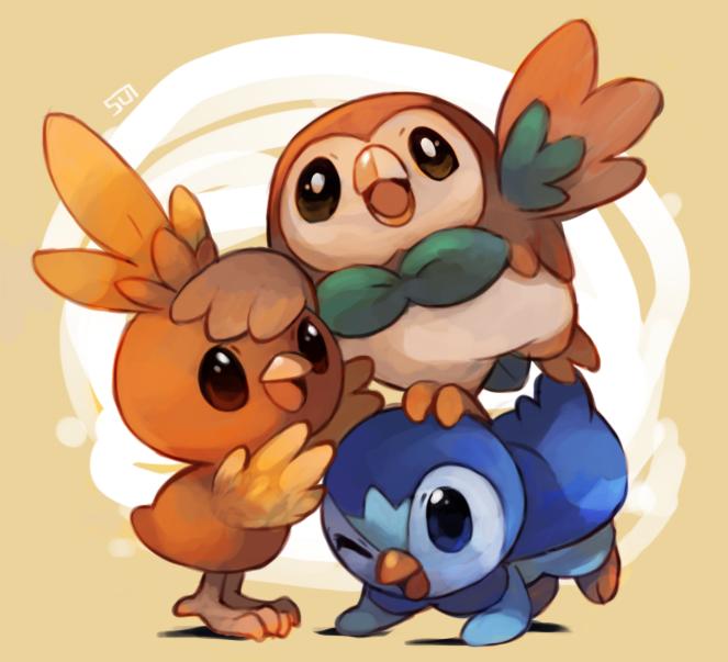 noemipls:  drew the starter birds